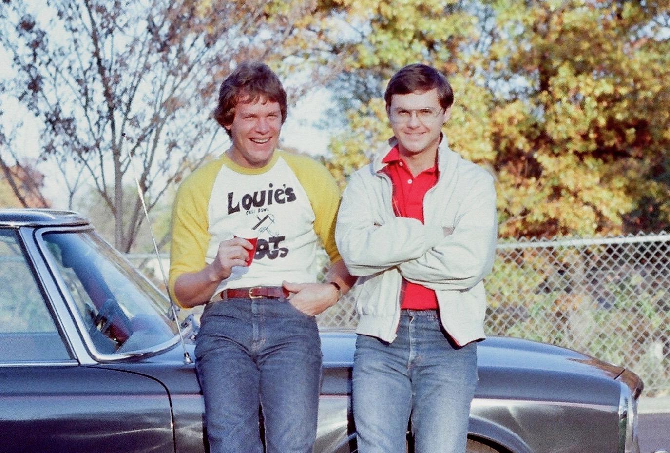 Lou Jullien and Ralph Cissne